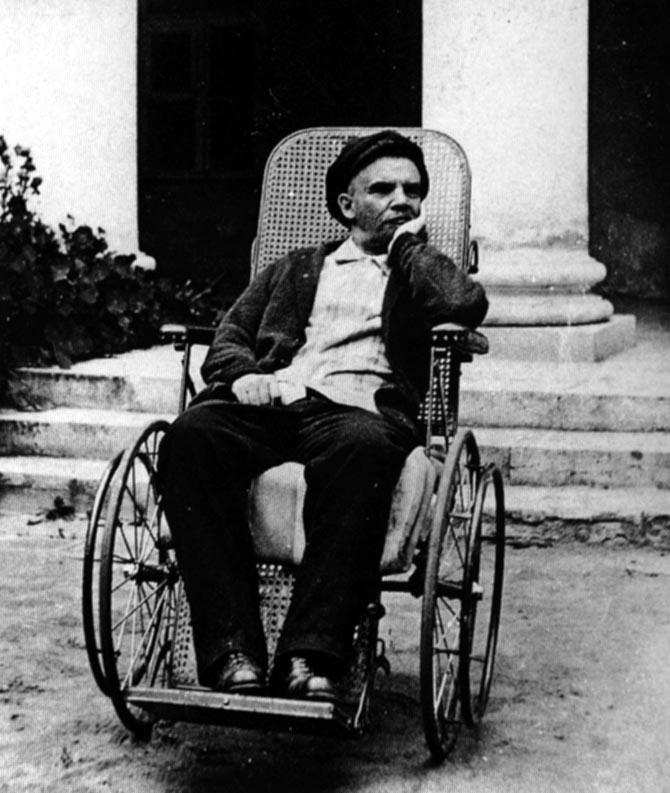 Ленин_в_Горках_(1923)
