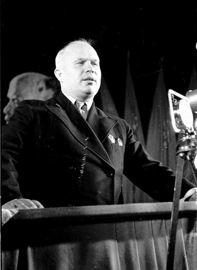 Выступление Н.С.Хрущева с трибуны Народного собрания Западной Украины.