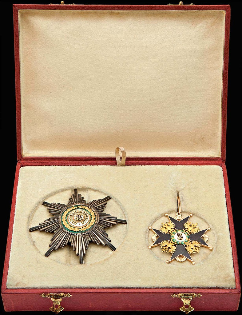 0_99b48_312d44ef_XXL Звезда и знак ордена ордена Святого Станислава II степени