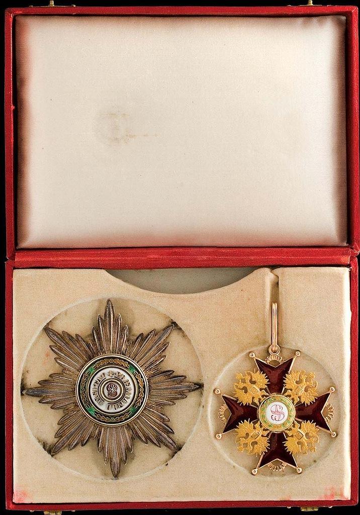 0_99b4a_e9ad7cd5_XXLЗвезда и знак ордена ордена Святого Станислава II степени