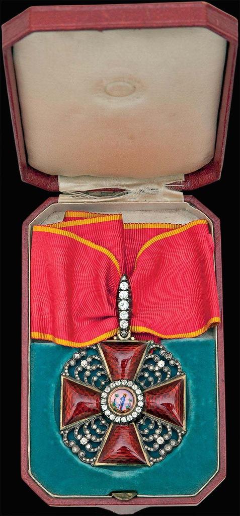 0_99b5f_2d0ceb49_XXLЗнак ордена Святой Анны I степени с бриллиантами