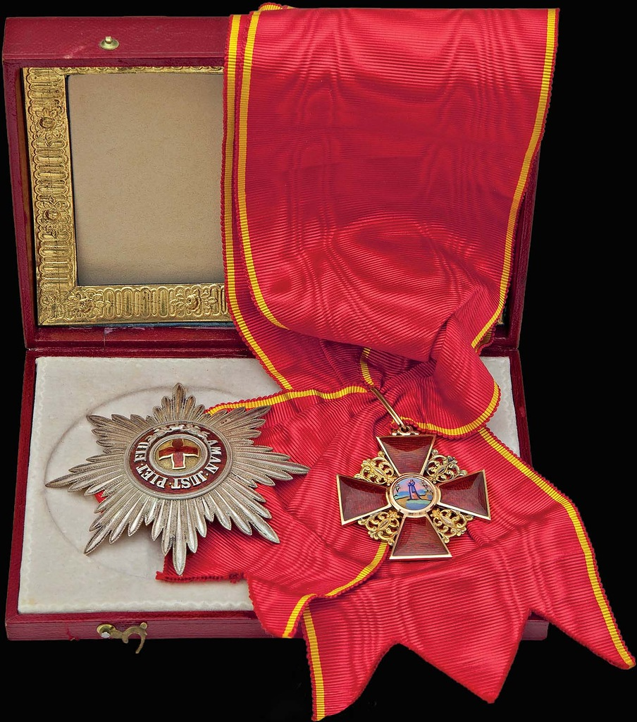 0_99b63_6484d61d_XXL Звезда и знак ордена Святой Анны I степени