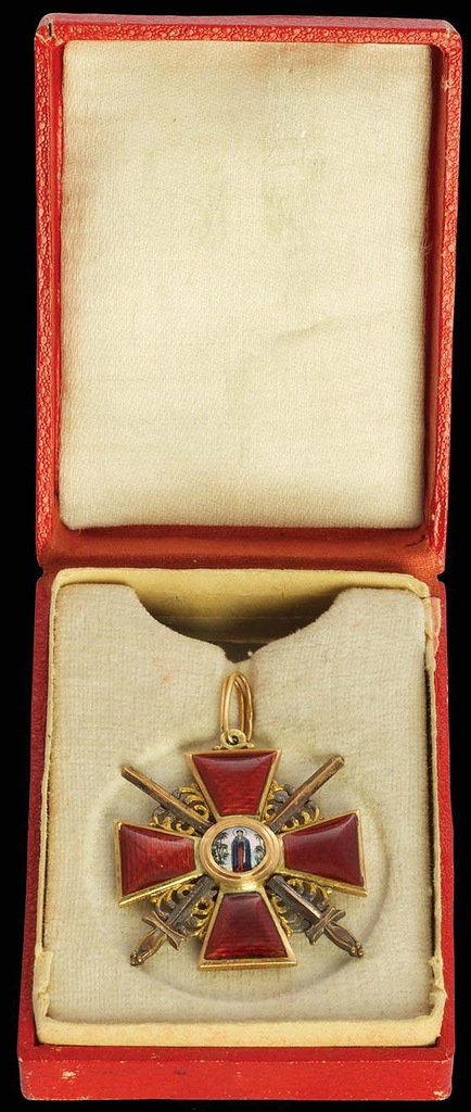 0_99b75_6773f45_XXL Знак ордена Святой Анны III степени с мечами