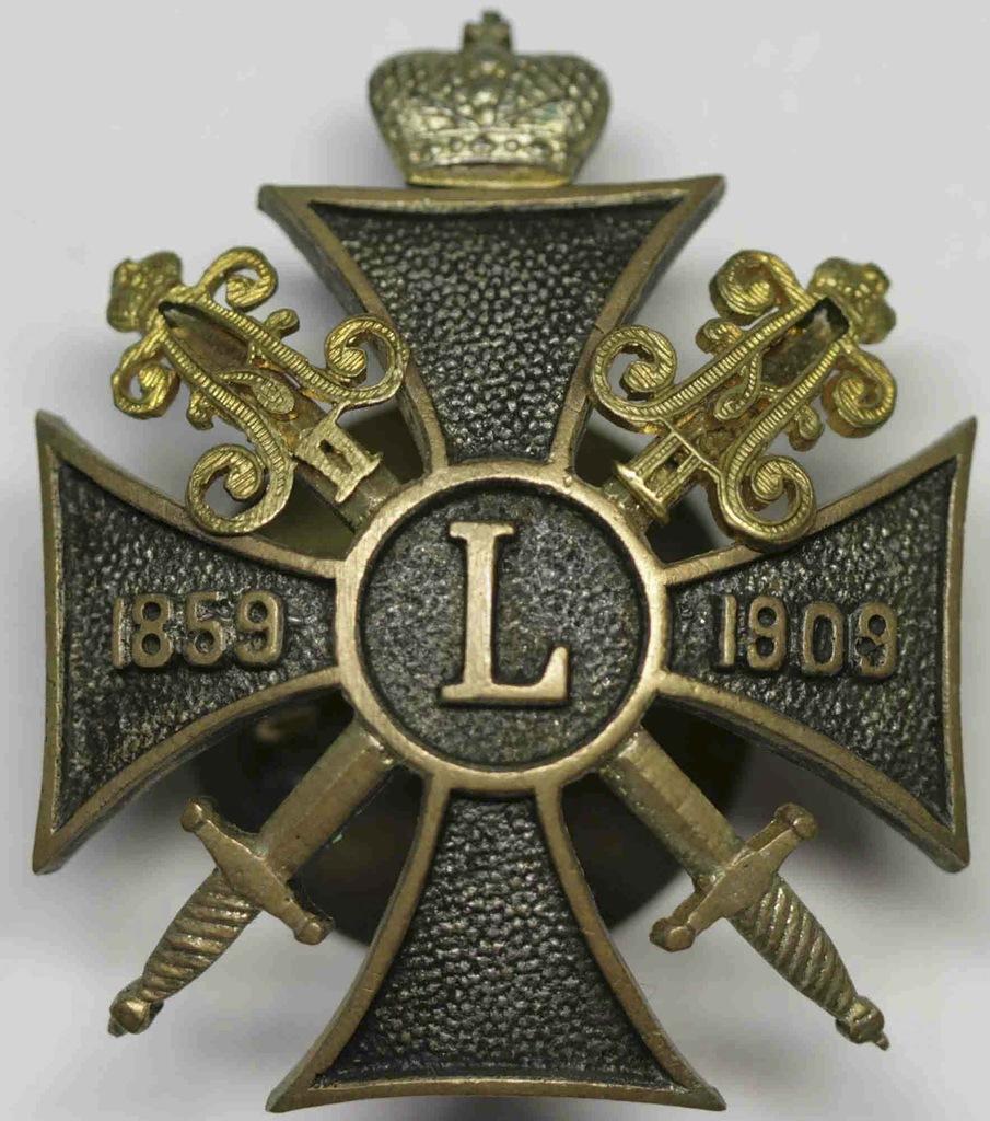 0_97d5b_29725295_XXLЗнак 1-ой Артиллерийской бригады Императорской Гвардии.
