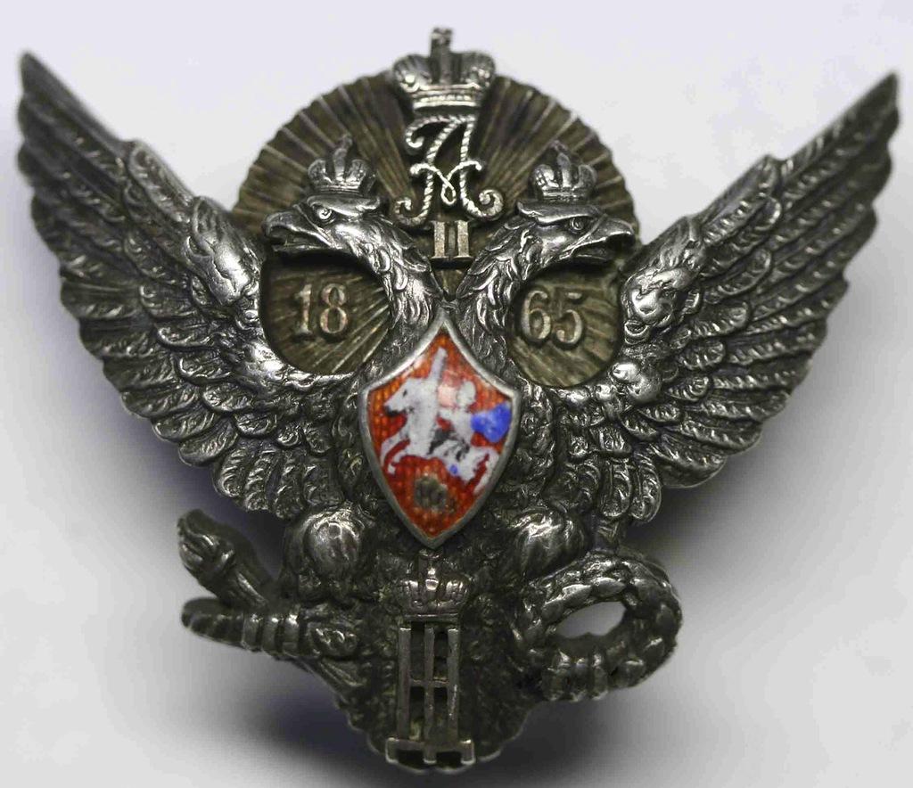 0_97db5_6cd91c3a_XXLЗнак об окончании Елизаветградского Кавалерийского Училища.