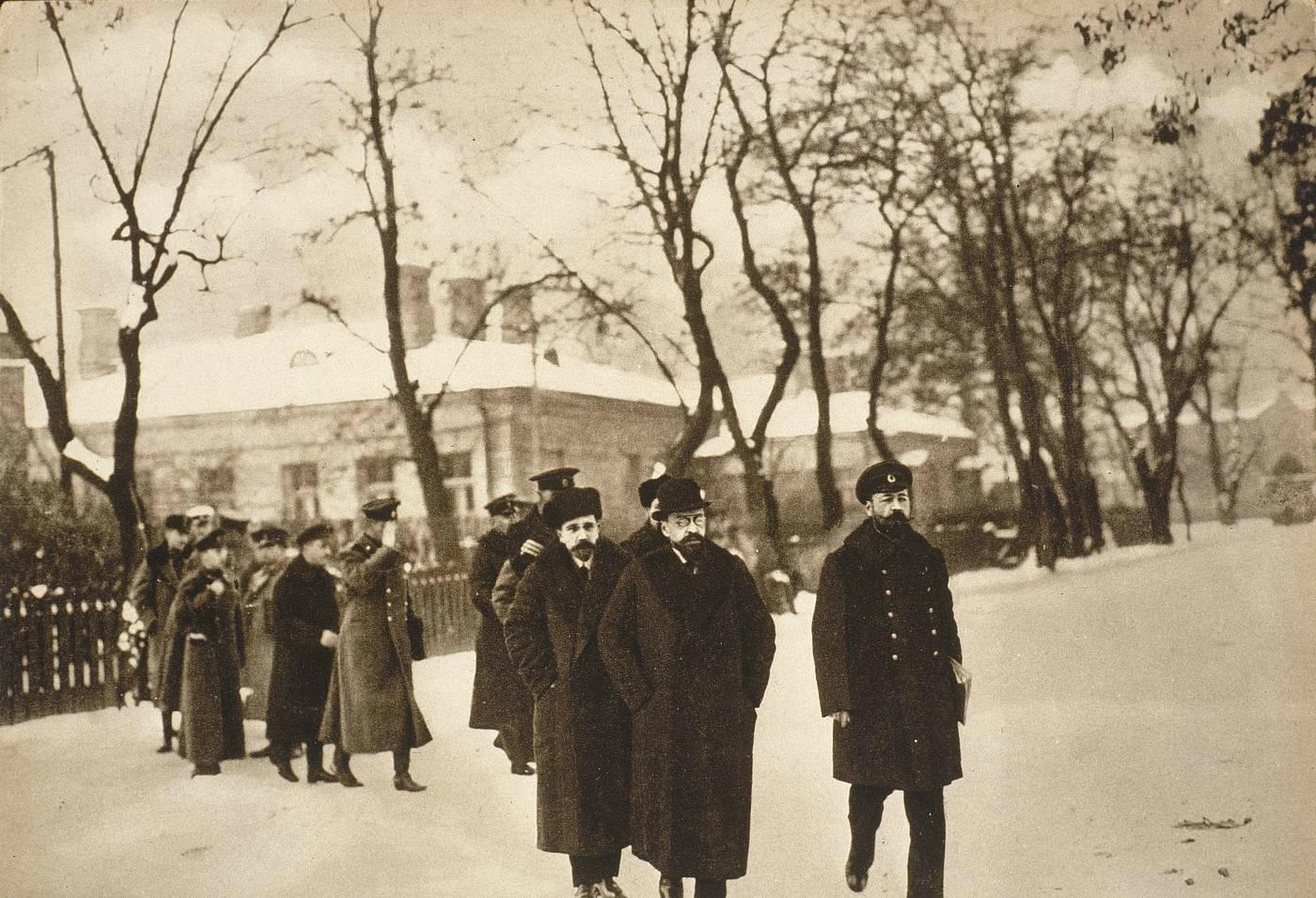 8 Прибытие российской делегации