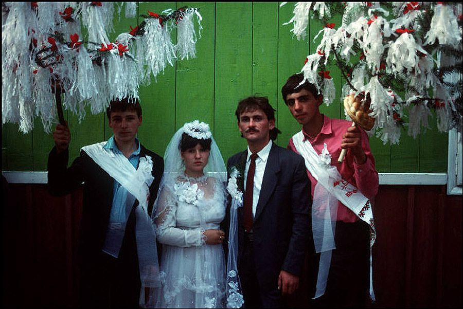 UAof80s14Деревня Черешенка. Сельская свадьба. 1988 год