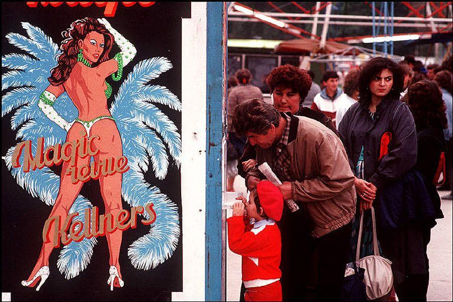Черновцы. Покупка билетов на представление. 1988 год.