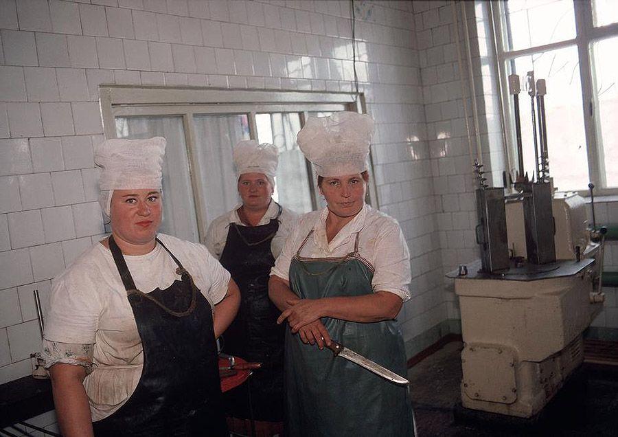 UAof80s58Донецк. Кухня при колхозе, принадлежащем шахтерам. 1988 год.