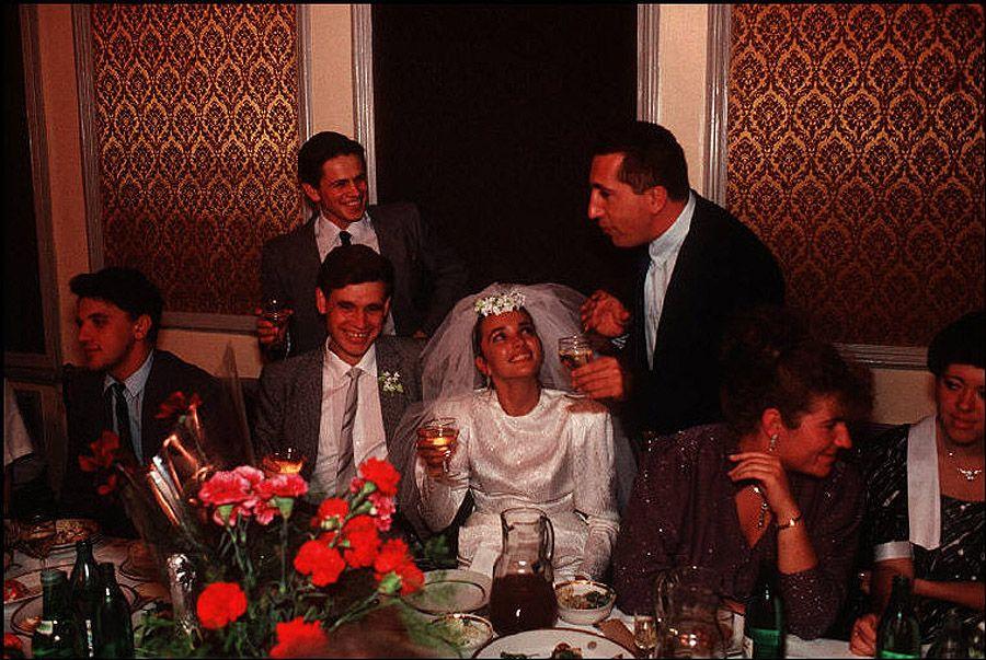 UAof80s38Одесса. Тост за молодую семью. 1988 год.