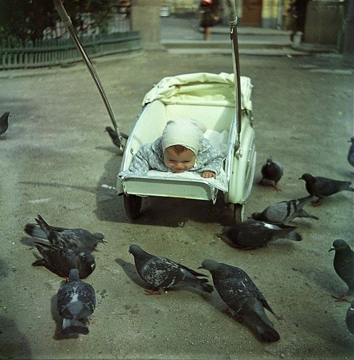 01«В московском дворике», 1962 год.