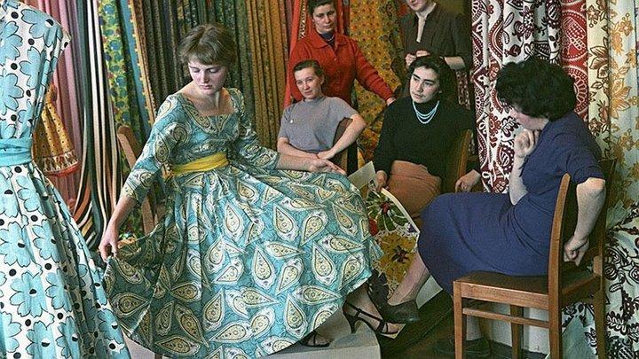 08На комбинате «Трехгорная мануфактура», 1959 год