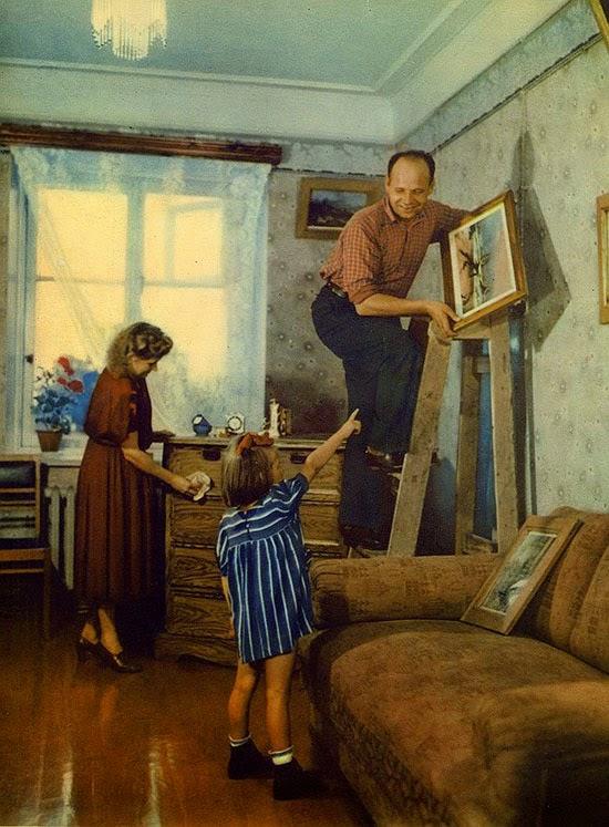 10«В новой квартире», 1953 год.