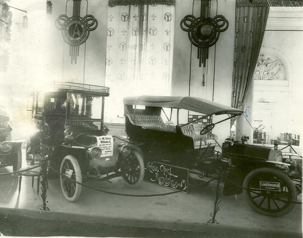 0_a93ef_ea232b16_XXXLАвтомобили фирмы Опель - экспонаты выставки.