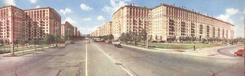 Moscow60-panorama-15Кутузовский проспект.
