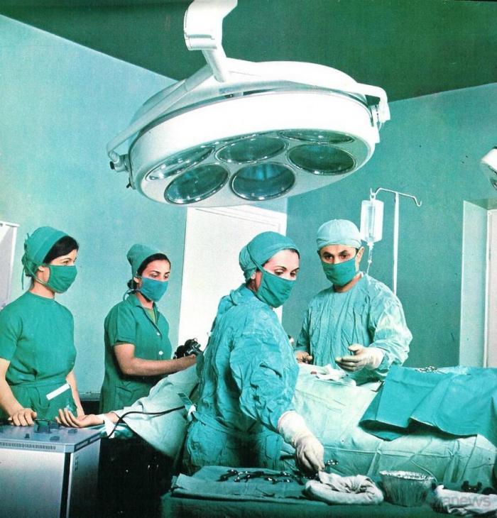 Tegeran_07Операционная больницы в Тегеране в 1971 году.