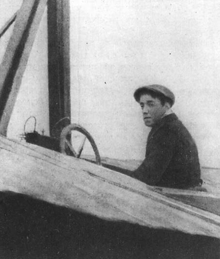 14К. Н. Шиманский, разбившийся при перелете Петербург — Москва