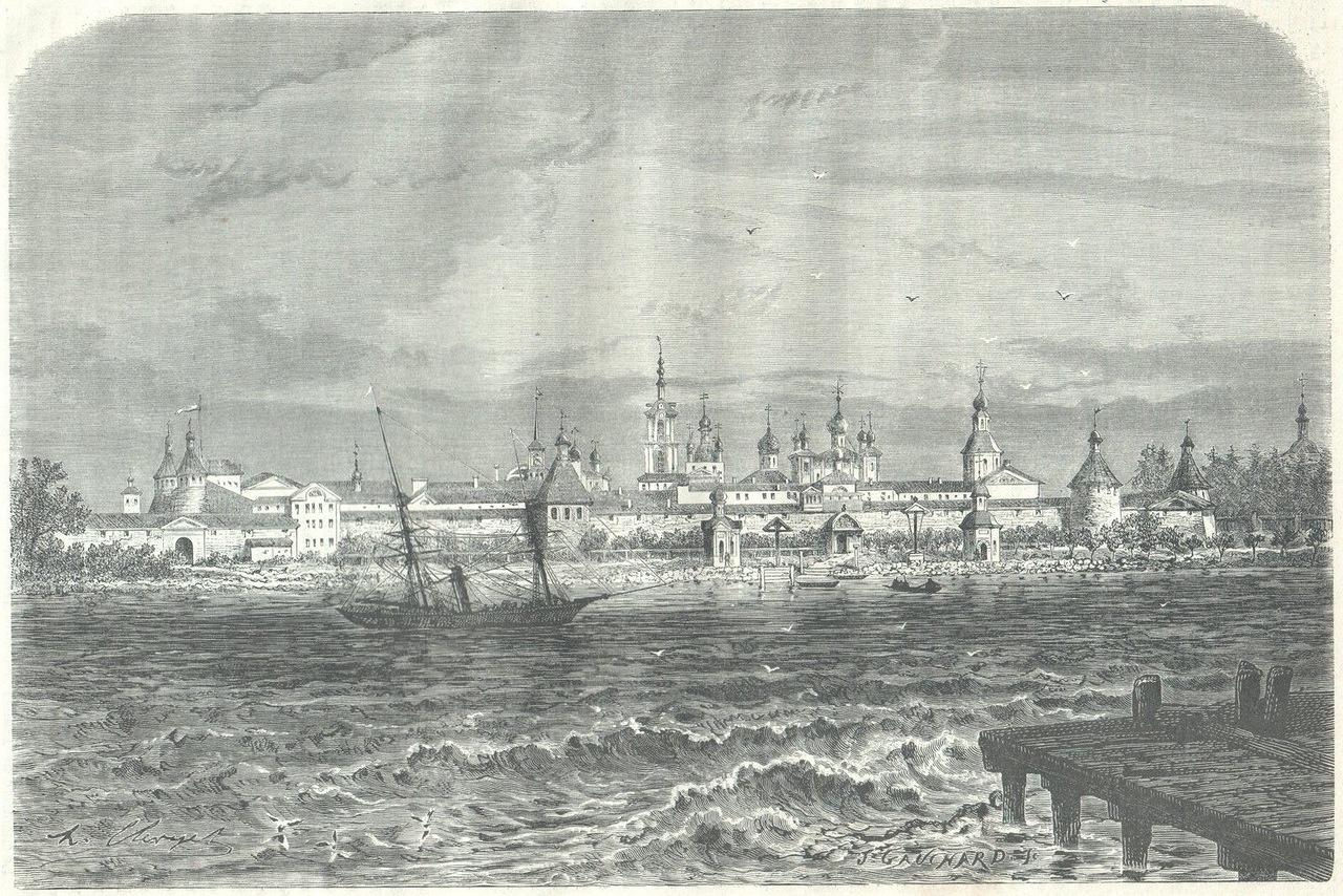 0_f1d8c_5ae1060_XXXL1872. Соловецкий монастырь с моря
