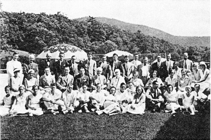 110Члены Русского лаун-теннис клуба в Нью-Йорке (1930)