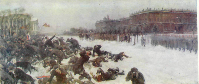 Русский Майдан - 110 лет назад.