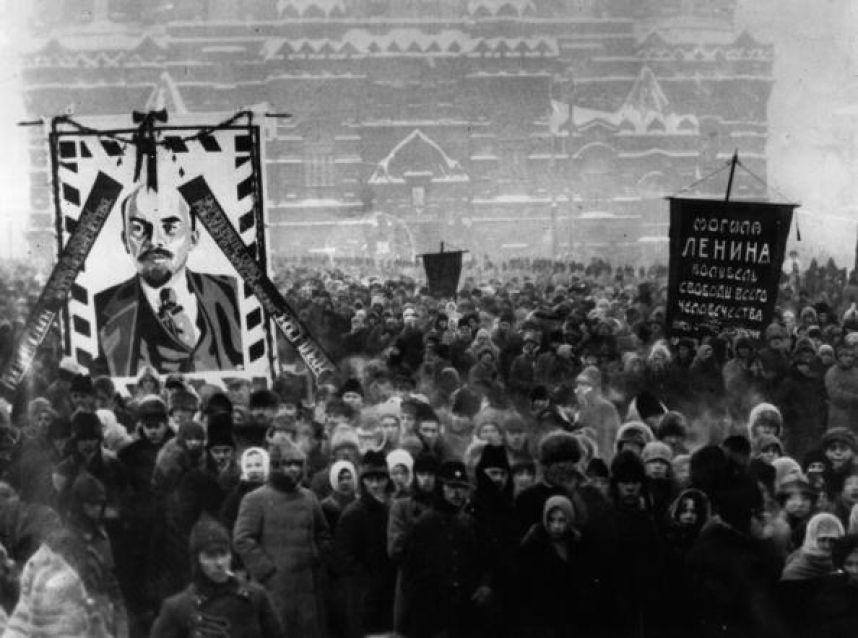 Похороны Ленина, 27 января 1924 года