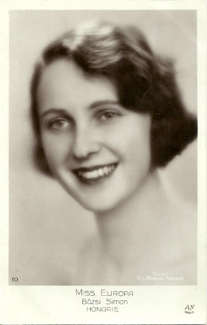 Мисс Европа 1929