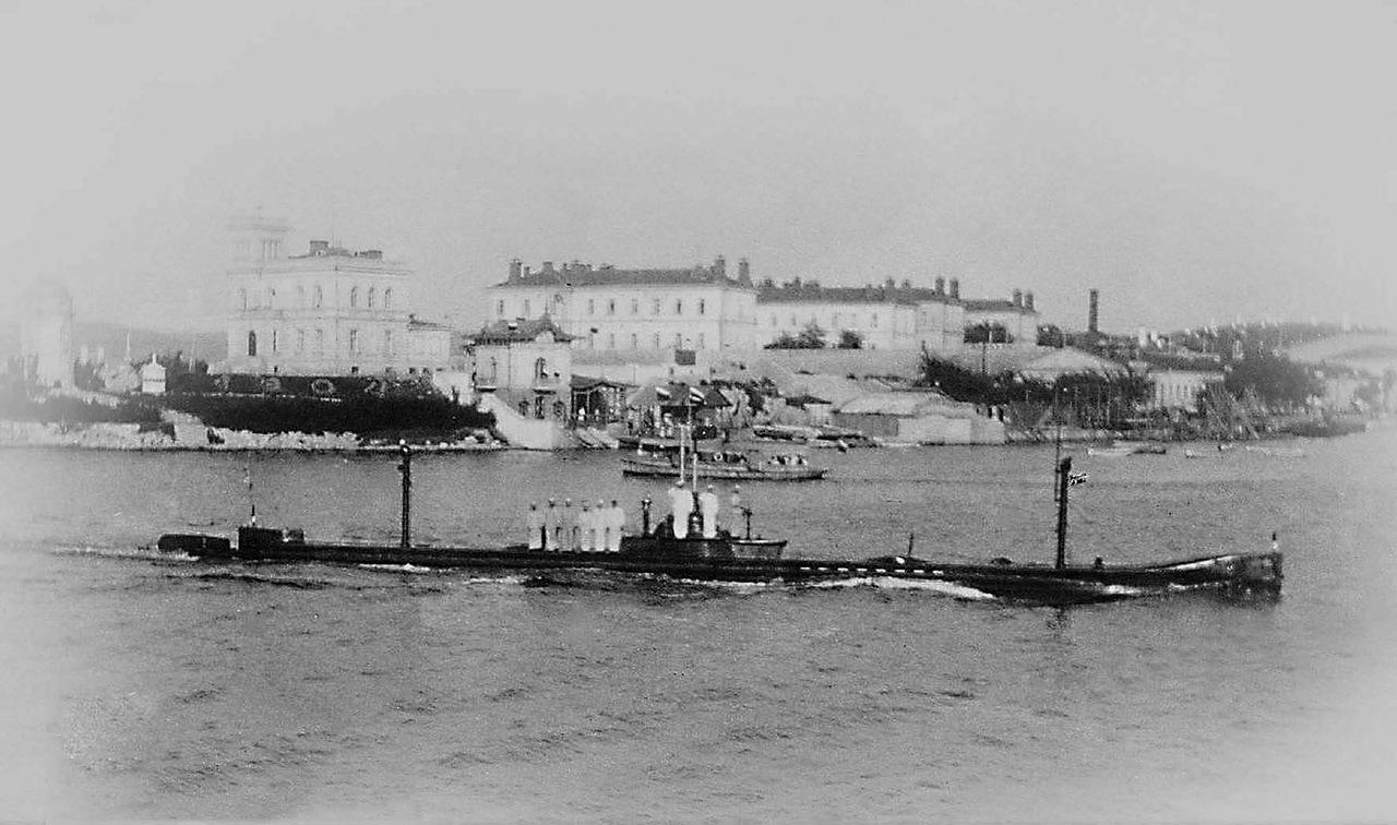 Подводная лодка Пантера.