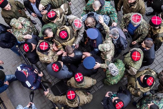 Как казаки с Навальным воевали