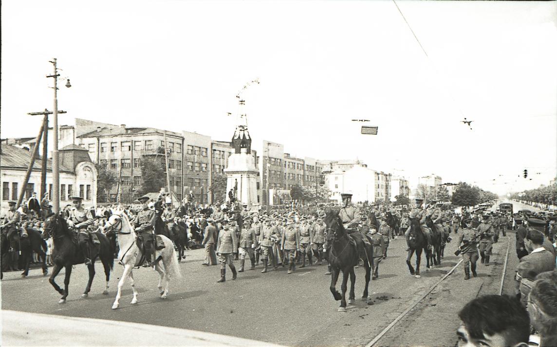 Советско-немецкий парад в Москве