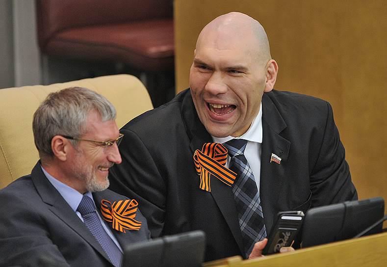 Депутат Валуев - пенсионерам
