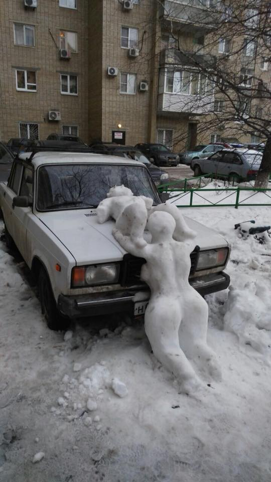 В Ростов пришла зима...
