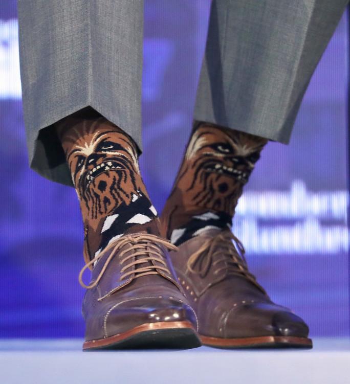 Джастин Трюдо и его носки.