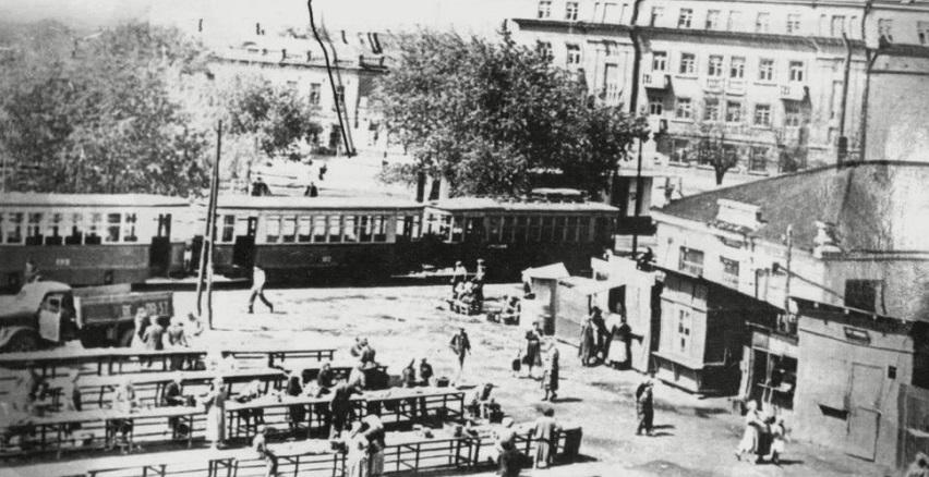 Главная площадь Таганрога в советское время