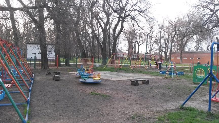 "Парк ""без берегов"". Местечковое"