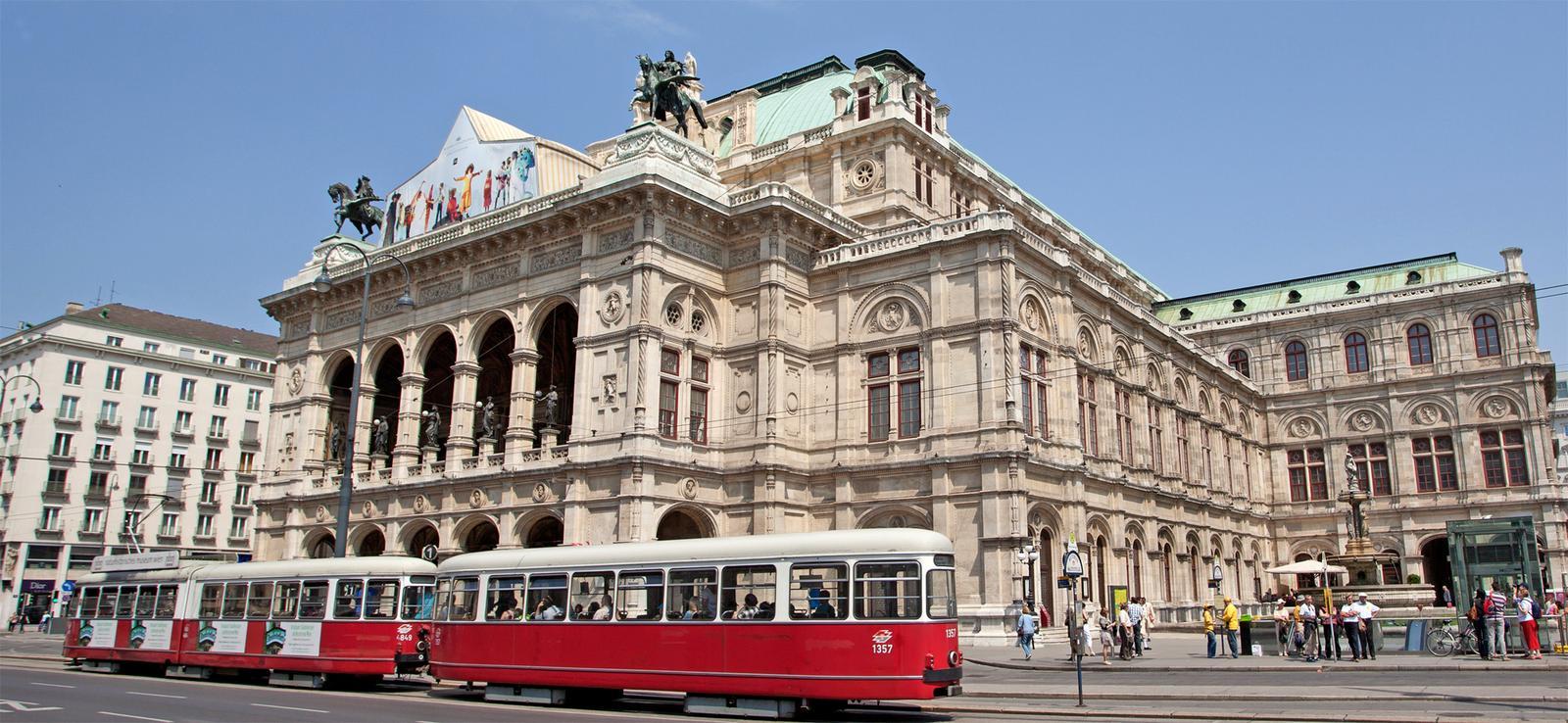 Вена, оперный театр