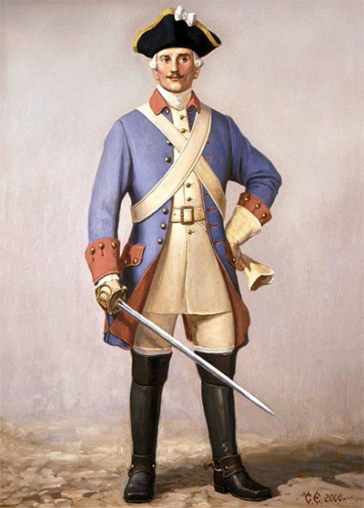 вв (189ш1а1а1а1ар1а1в2м1а4копирование1ар1а1а Рядовой драгун Санкт-Петербургской полиции 30-е годы XVIII века