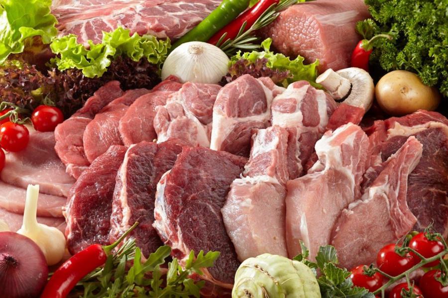 Производство мяса в России в 2017 году