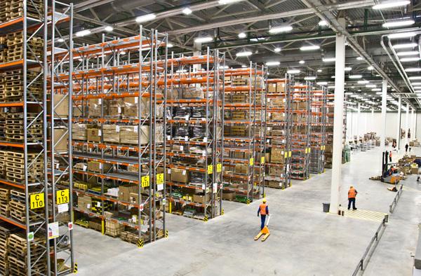 Управляемые процессы на складе