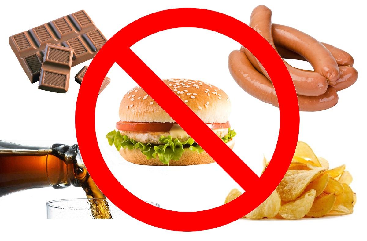 Запрет рекламы колбасы, шоколадных батончиков, чипсов, фаст-фуда и газировки на российском ТВ