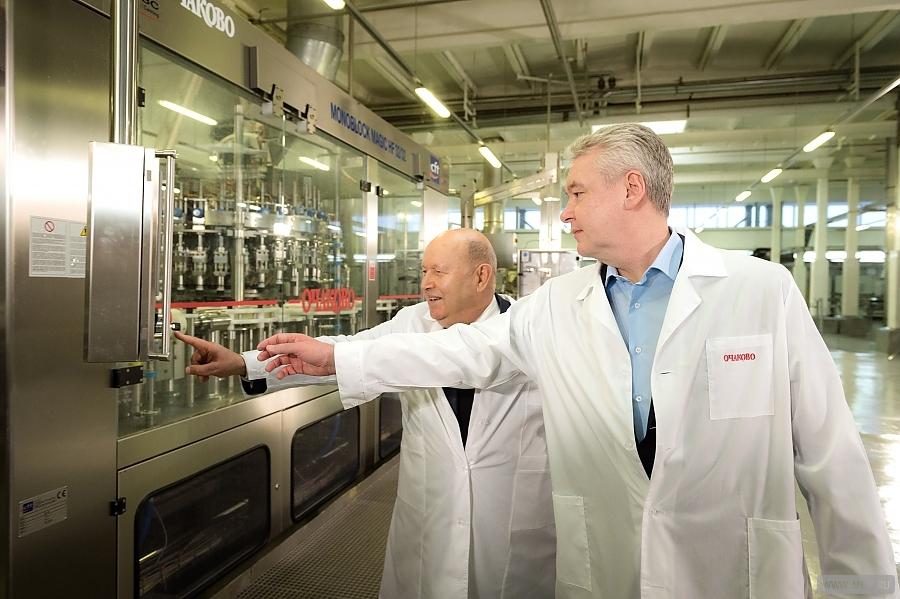 Новая линия по производству натуральных соков в «Очаково»