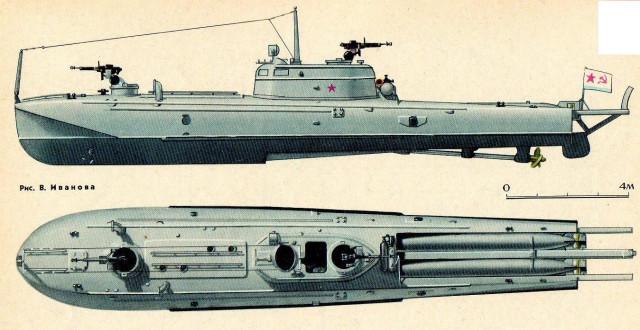 Г-5 в море.
