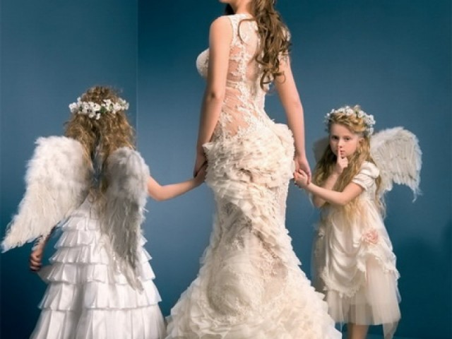 Суеверие свадебное платье