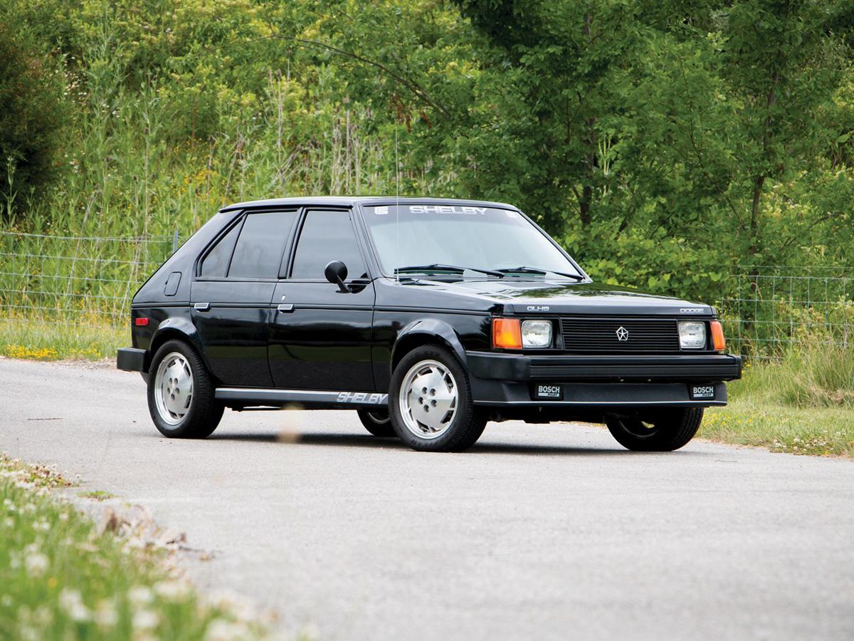 Dodge Omni Shelby GLHS 1986 –Горячий хетчбек по американски