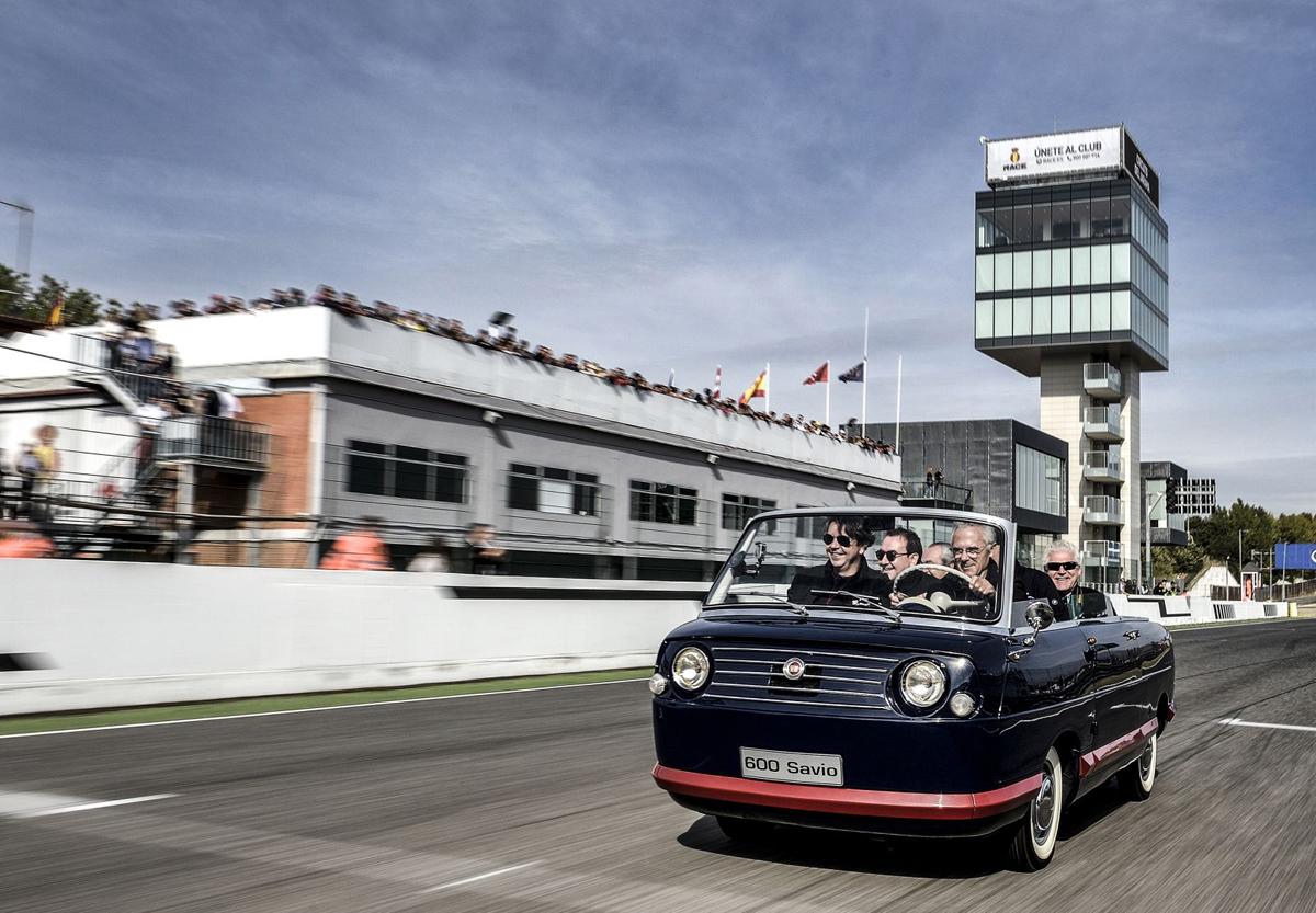 Seat / Fiat 600 Multipla Panoramica 1964 – Экскурсионный транспорт для Vip персон