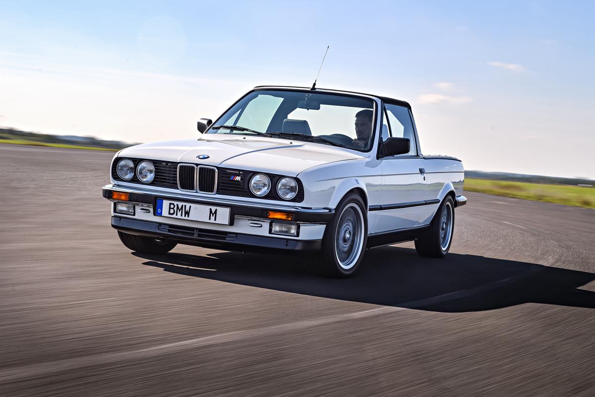 BMW M3 Pick-up E30 1986 / E92 2011 – M3 в непривычном облике