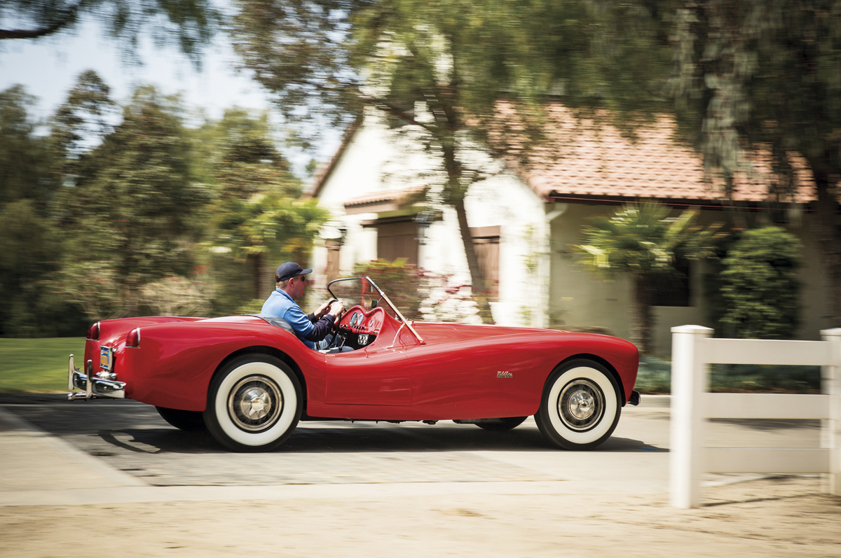 Woodill Wildfire Roadster 1952-1956 – Дикий огонь