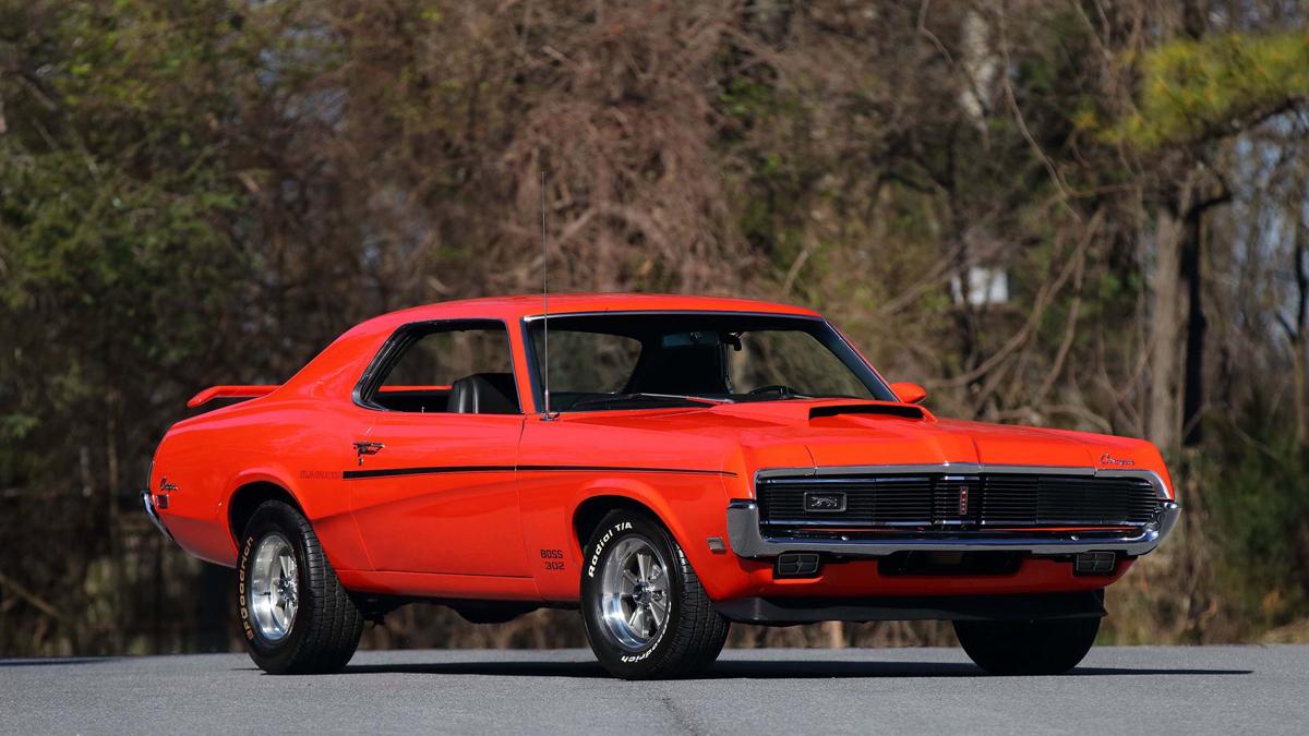 Mercury Cougar Eliminator Boss 302 1969-1970 – Когда Mustang и Camaro есть у соседей…