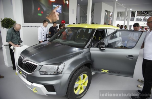Skoda-Yeti-Xtreme-front-three-quarters-left-at-Goodwood-Festival-of-Speed-2014-610x400