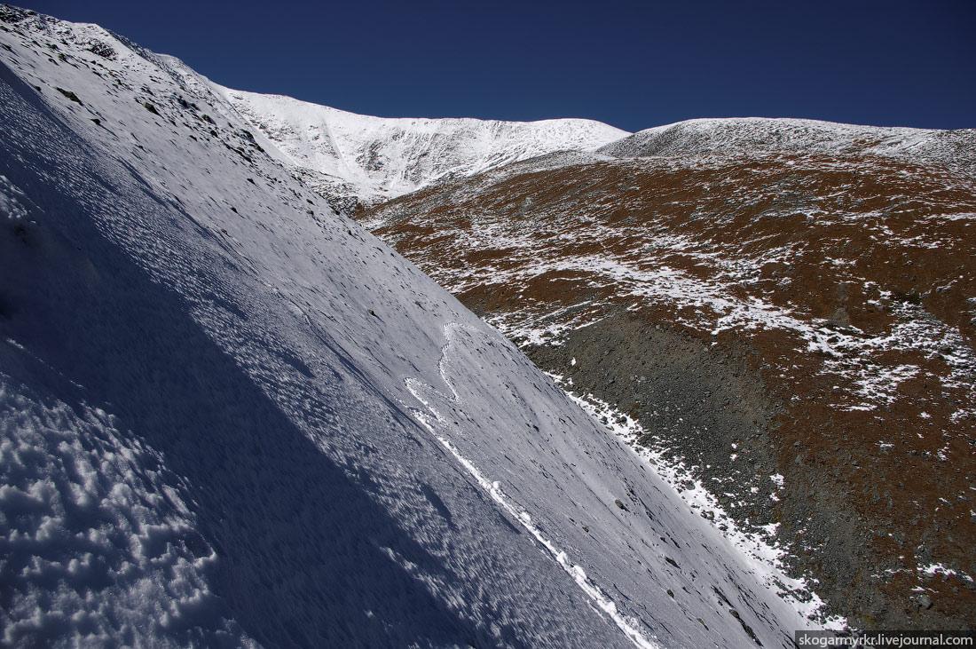 тропа Белуха Кара-Тюрек Аккемское озеро фото туризм поход Катунский хребет