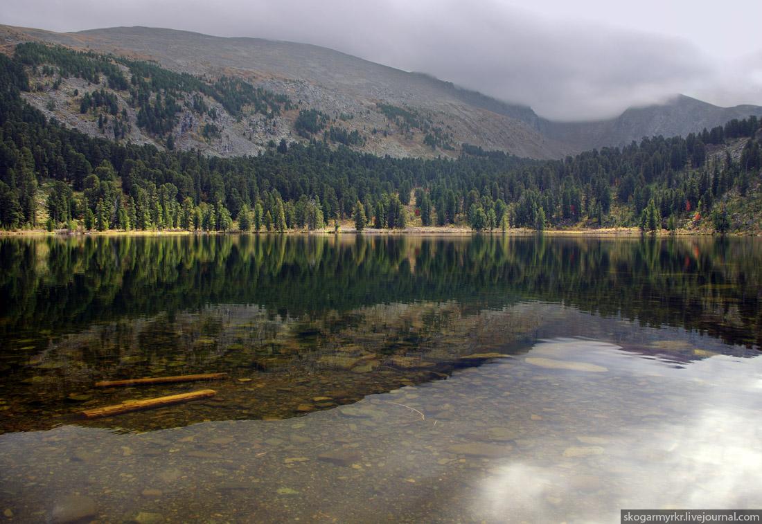 чистота воды Каракольских озёр Алтай фото